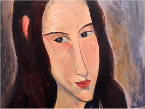 Modigliani inspired Portrait (Full Guidebook)