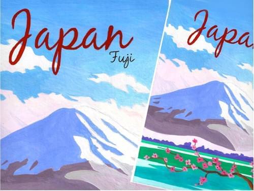 1930's Japan Travel Poster (Full Guidebook)