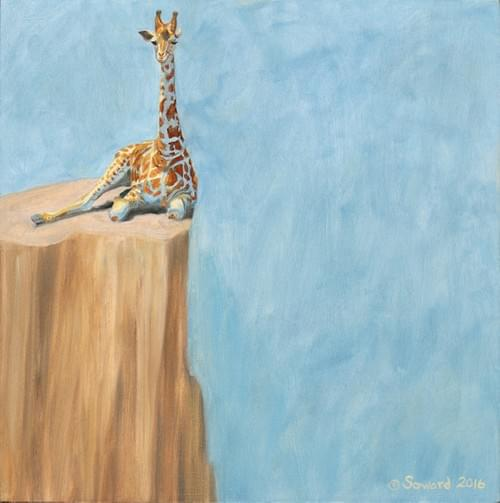 """On the Brink: West African Giraffe"""