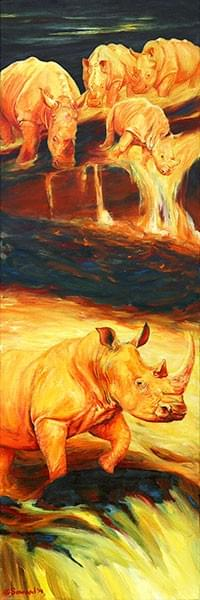 """Rhinos for Pele: Vulcan"""