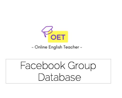 Access to 250 ESL Facebook Groups
