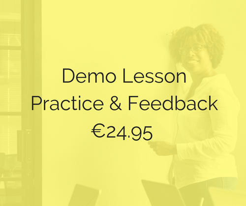Demo Lesson Practice Session