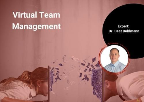 Virtual Team Management |Dr. Beat Buhlmann