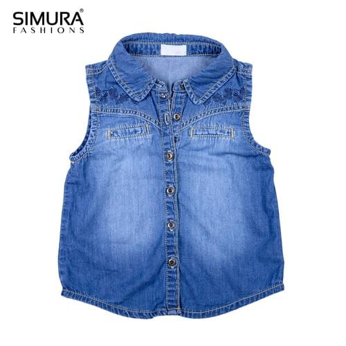 Short or Long Denim Jacket for Ladies