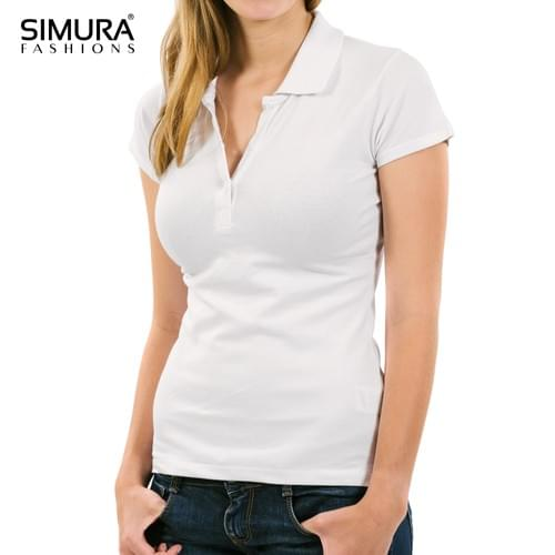 Women's Customized Promotional Polo Shirt