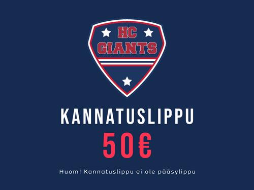 KANNATUSLIPPU 50€