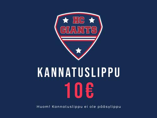 KANNATUSLIPPU 10€
