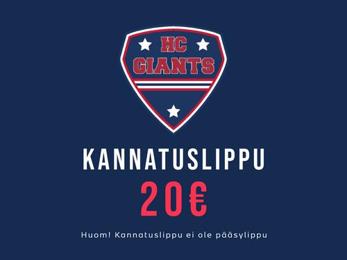 KANNATUSLIPPU 20€