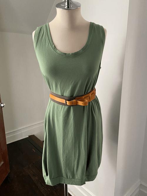Vintage Ziliotto Bubble Tank Dress