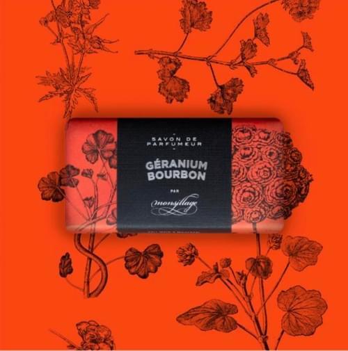Géranium Bourbon Savon de Monsillage