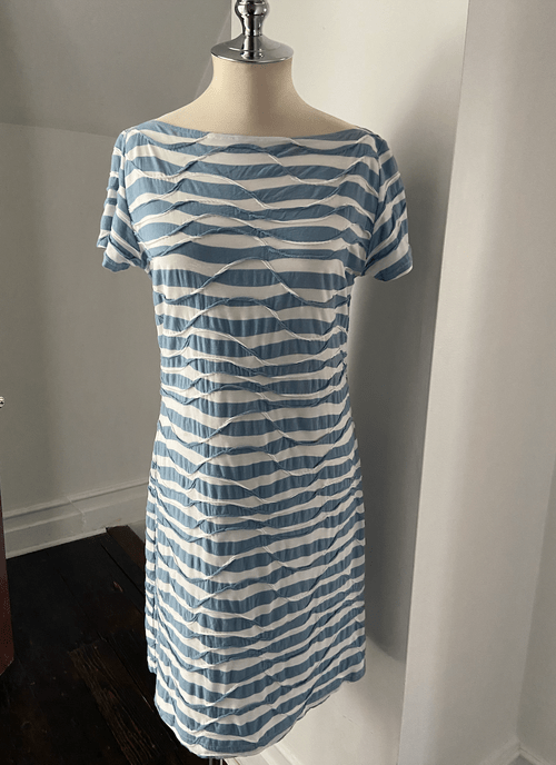 Vintage Ziliotto Striped Tunic Dress