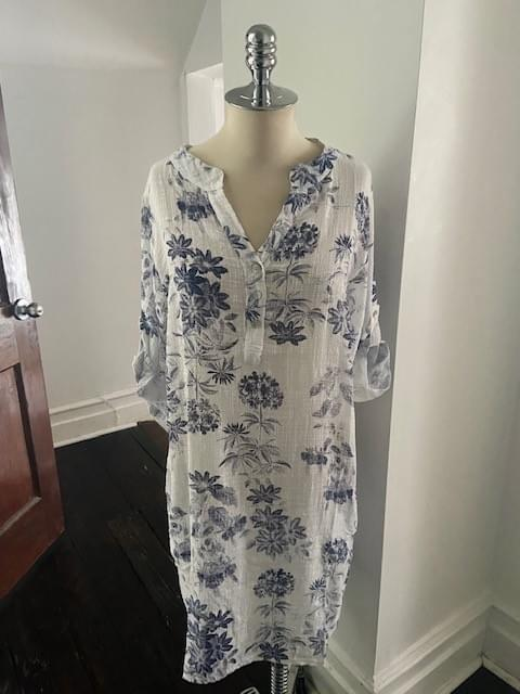 Cotton Toile Tunic