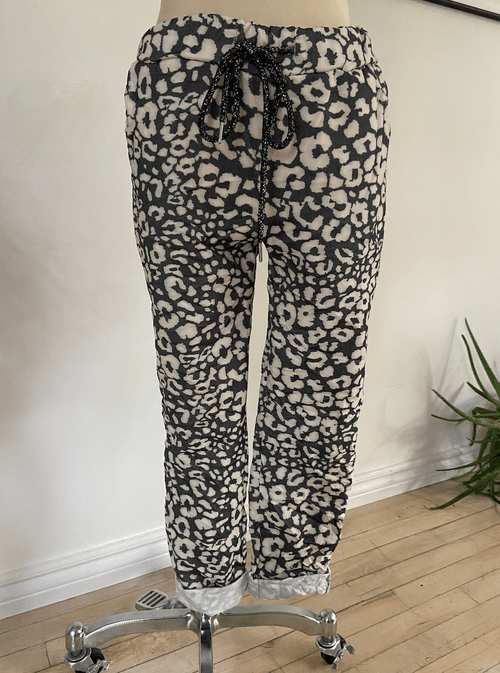 Klimt Garden Print Pants