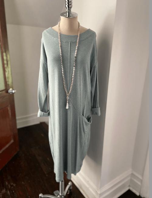 Pretty Sweater Dress