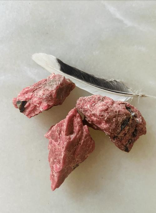 Rhodonite Crystal