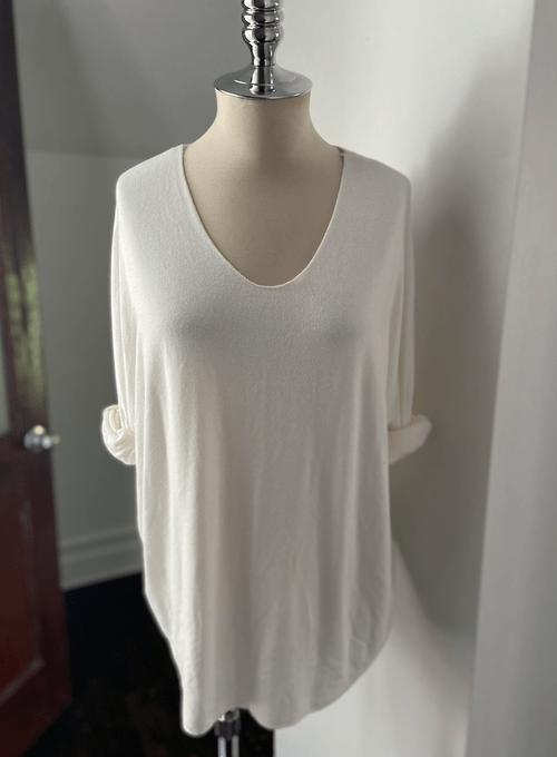 V-Neck Light Weight Sweater