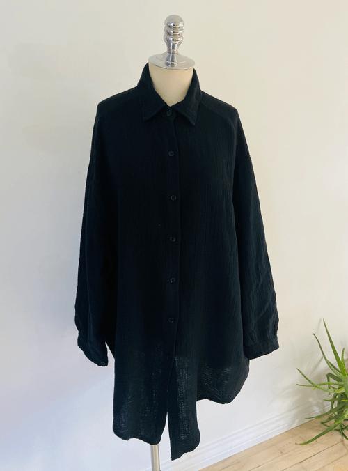 Klimt Crinkle Tunic