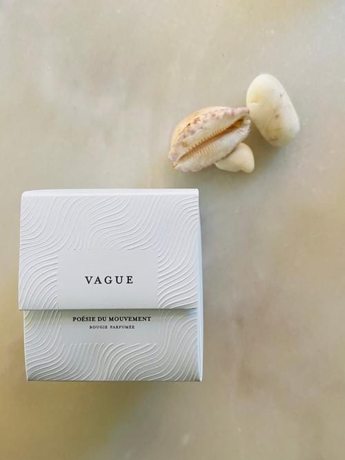 Vague Bougie parfumée by Monsillage