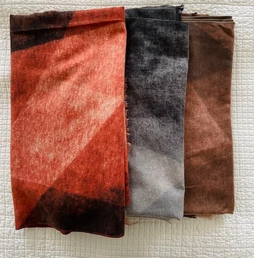 Dégradé Colour Print Scarf