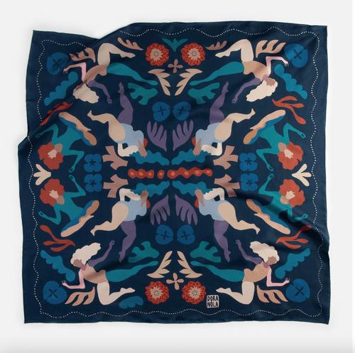 Fresco Dora Nola silk Scarf