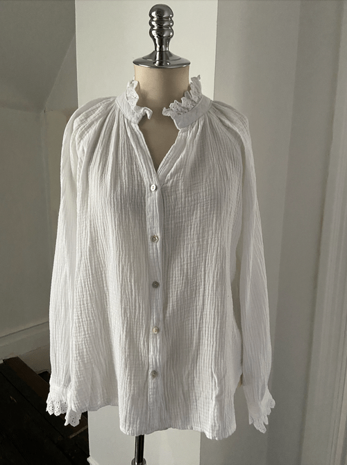 Victorian Crinkle blouse