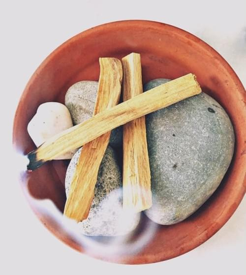 PALO SANTO Smudging stick BACK IN STOCK!