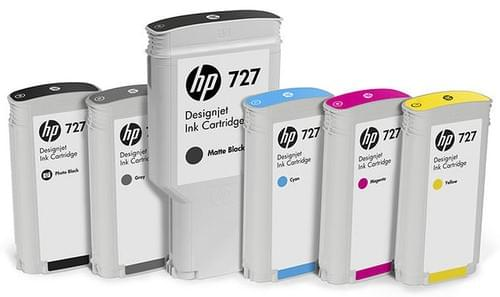 HP 727 Ink for use with HP Designjet T15XX and T25XX models