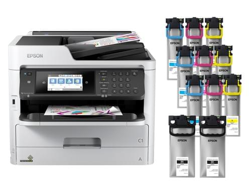 Epson Workforce Pro C5790 Supertank MFP Printer