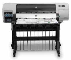 Used HP Designjet T7100ps With Heated Stacker