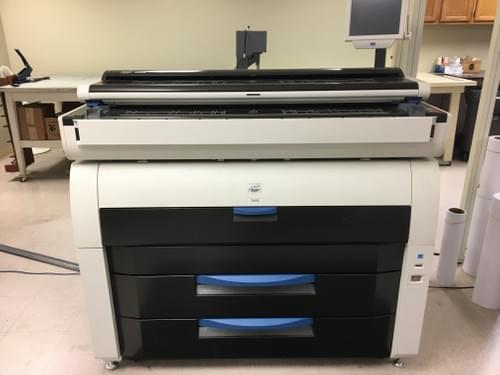 Used KIP 7900 with KIP 2300 Scanner
