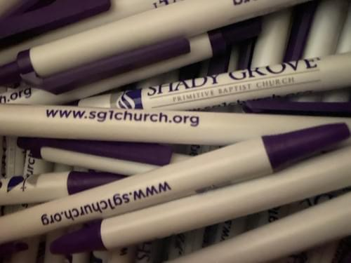 Shady Grove #1 Pens