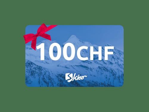 Carte-cadeau Skioo 100 CHF - Offre réservée aux employés Hitachi