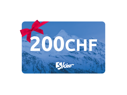 Carte-cadeau Skioo 200 CHF - Offre réservée aux employés Hitachi