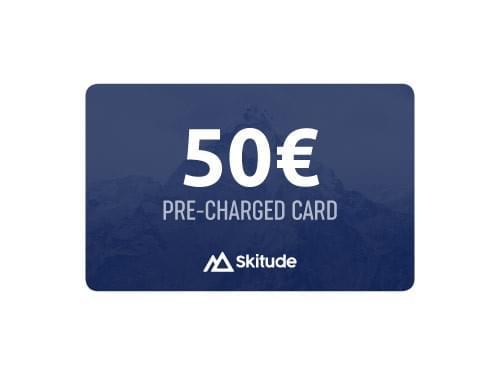 50€ Skitude Card Precargada