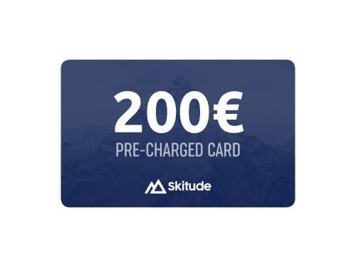 200€ Skitude Card Precargada