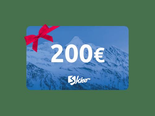 200 € Tarjeta regalo