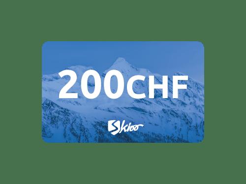 Voraufgeladener Skioo Pass - 200 CHF