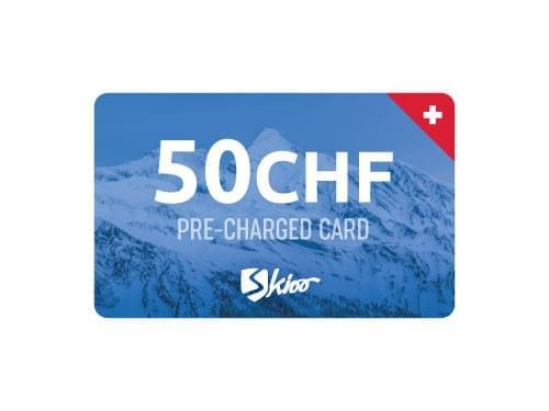 Skioo Card 50 CHF