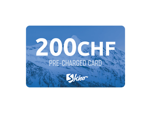 Skioo Pass Préchargé 200CHF