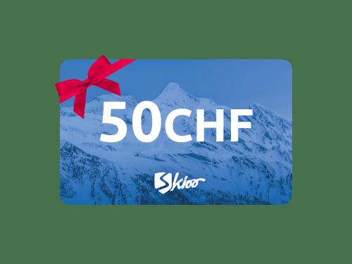 Carte-cadeau Skioo 50CHF