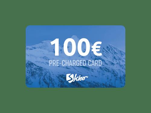 100CHF vorab aufgeladenen Skioo Pass