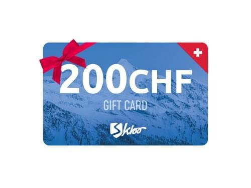 200CHF Geschenkkarte