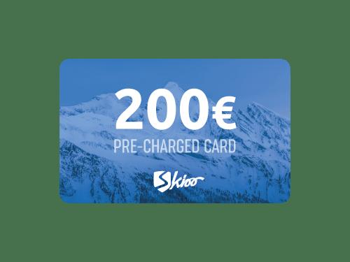 Carte-cadeau Skioo 200CHF