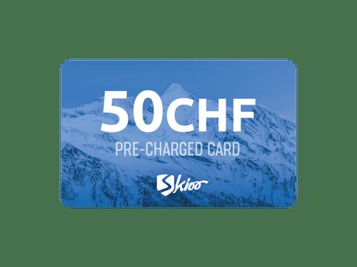 Skioo Pass Préchargé 50CHF