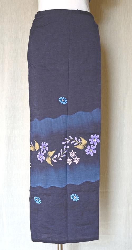 女性用ロンジー(シャン族)スカートタイプ