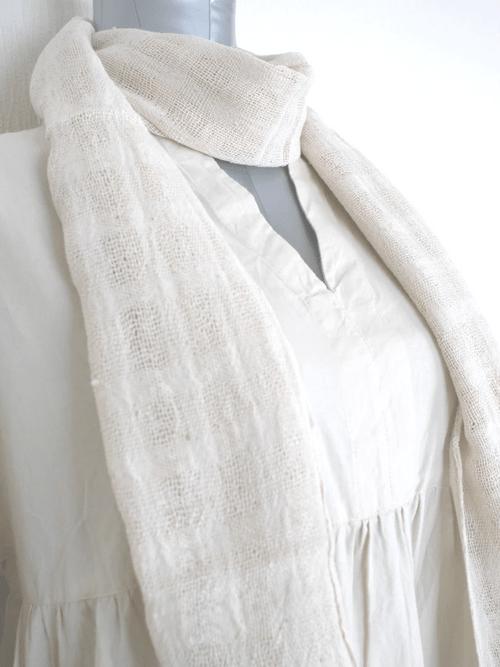 インレー湖の手織りコットンスカーフ its008