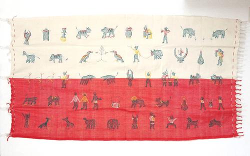 ナガ族の布 nab002