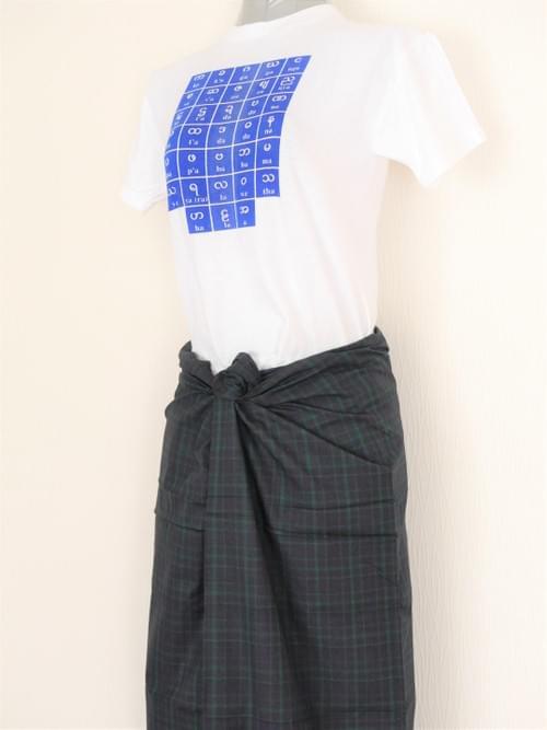 男性用ロンジー (カチン族) bas952
