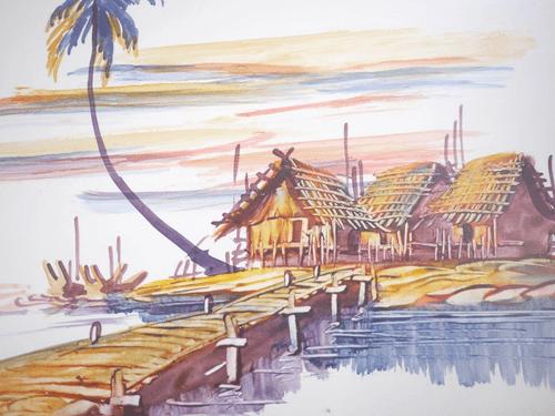 ミャンマーの絵  pic020