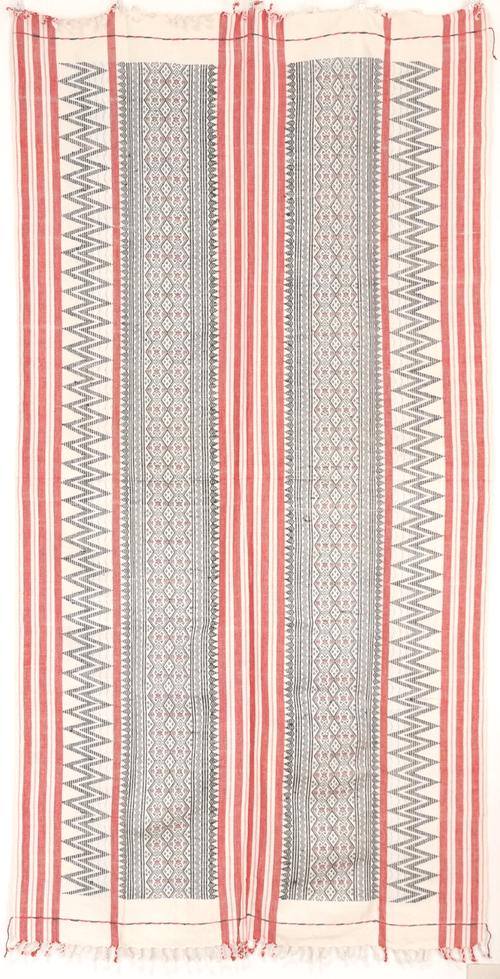 ナガ族の布